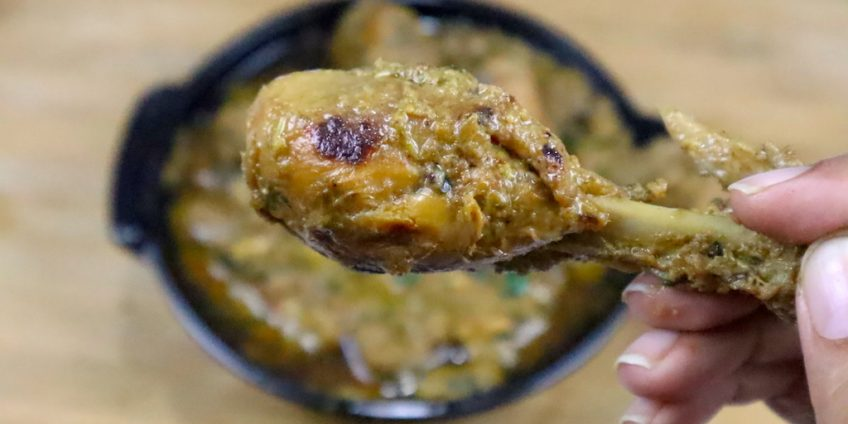 methi-chicken