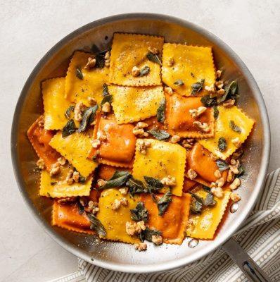 pumpkin-ravioli