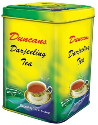 Duncans Darjeeling Tea, 100% Orthodox Tea (250g x 2 Tin Container Pack)