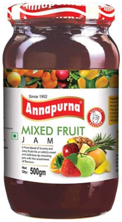 annapurna mixed fruit jam