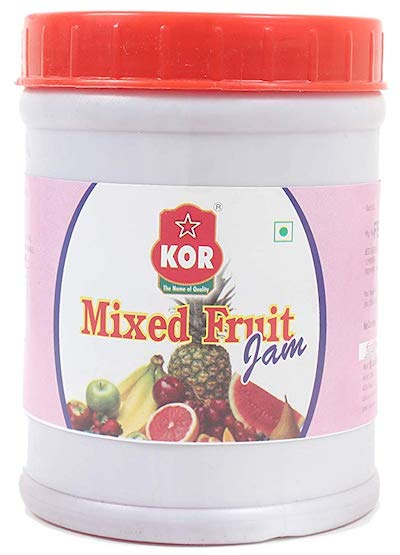 kor mixed fruit jam