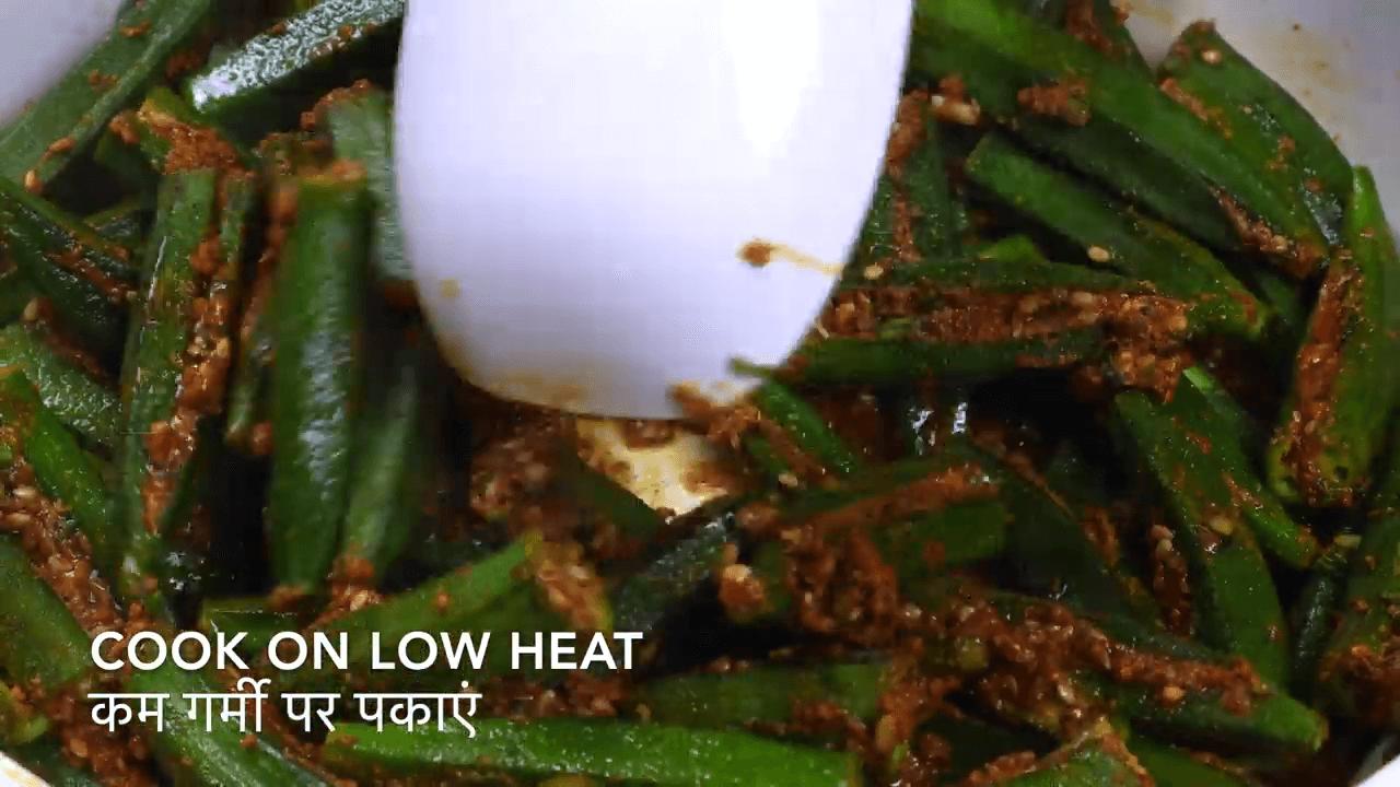 Kadhi Bhindi step-3