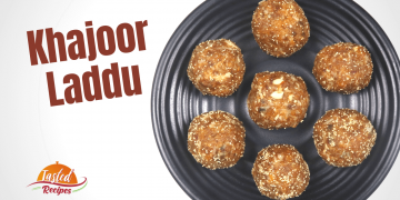 Khajoor Laddu | Khajur Ladoo | Dates Laddu