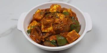 Paneer Handi Masala - 5 Minute Paneer Recipe