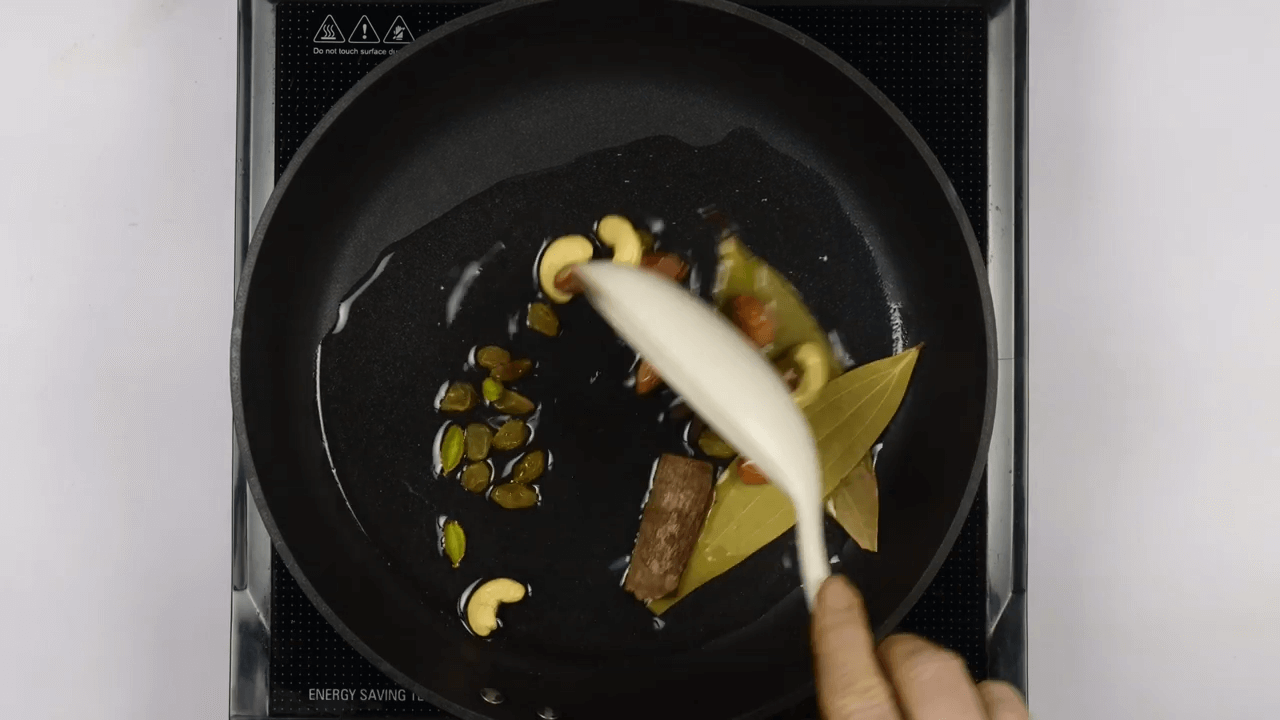 Vegetable Pulao step-1