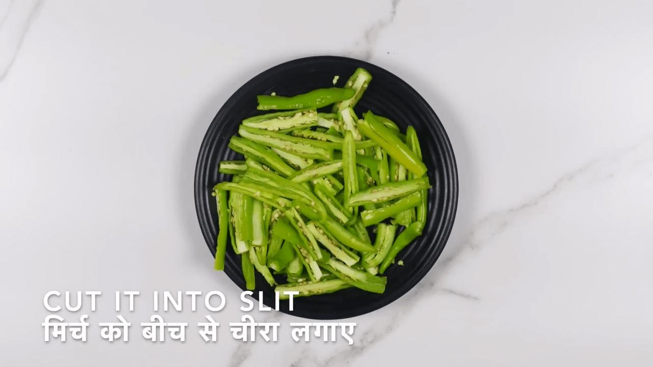 Green Chili Pickle step-1