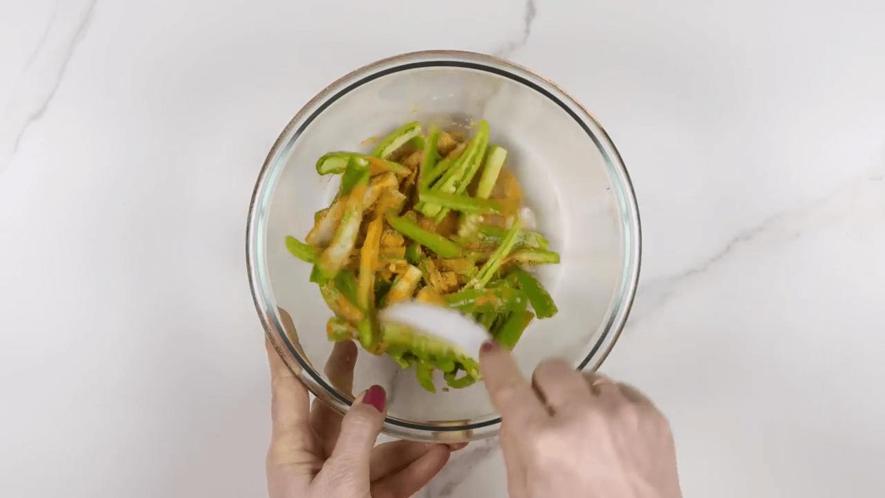 Green Chili Pickle step-2