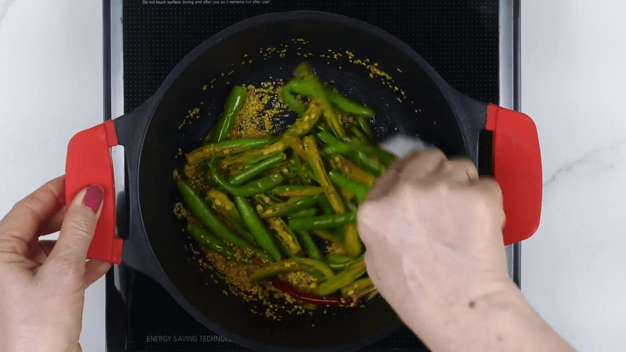 Green Chili Pickle step-4
