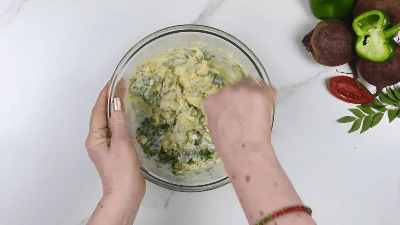 Mix Vegetable Fried Idli step-1
