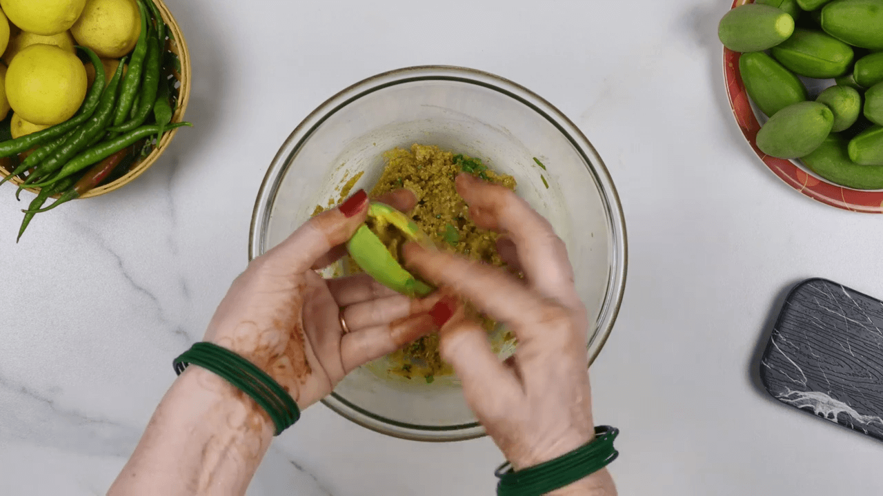 Bharwa Parwal step-2