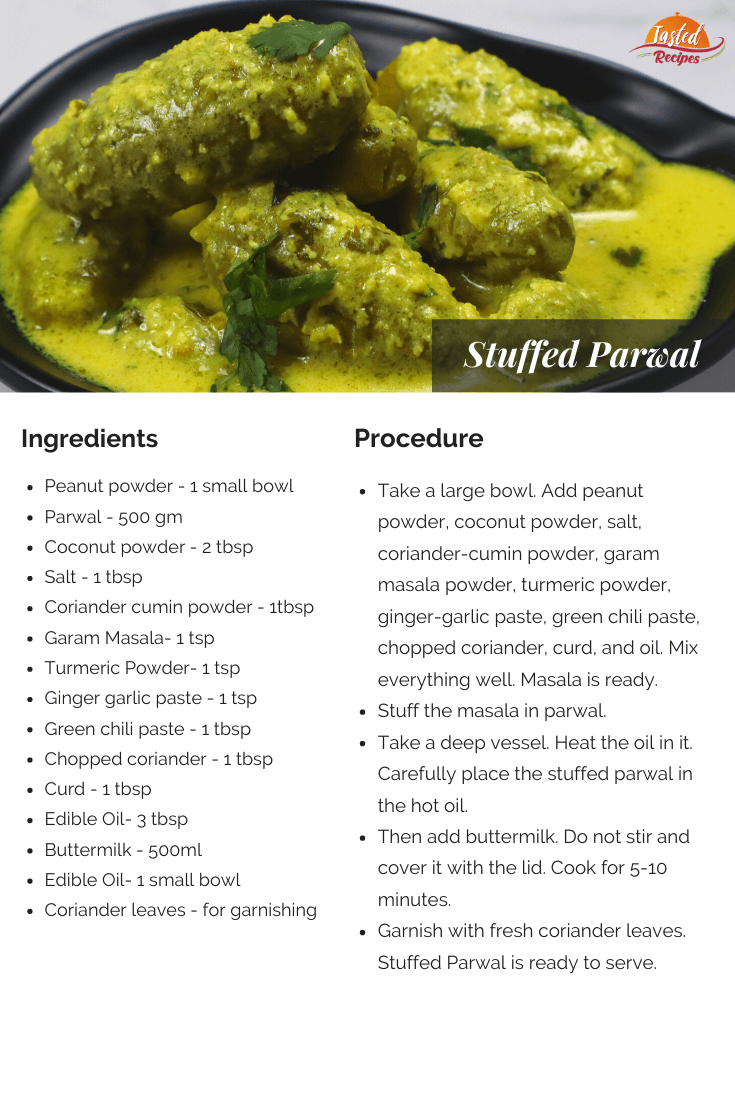 stuffed parwal recipe card