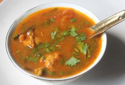 chicken rasam soup