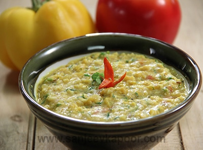 dal and oats soup