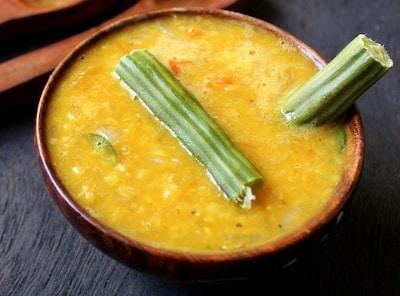 drumstick red lentil soup
