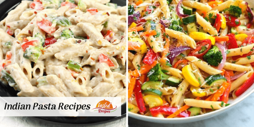 indian pasta recipes