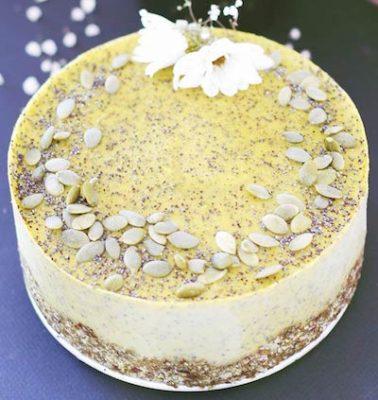 lemony cauliflower cake