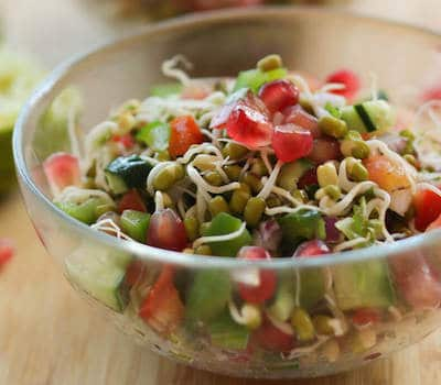mung dal sprouts salad