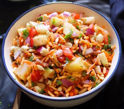 puffed rice salad