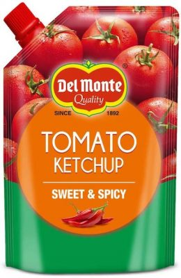 delmonte tomato ketchup sweet & spicy