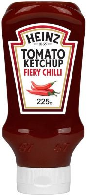 heinz tomato ketchup fiery chili