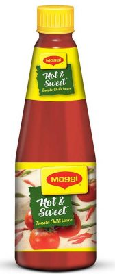 nestle maggi hot and sweet tomato chili sauce bottle