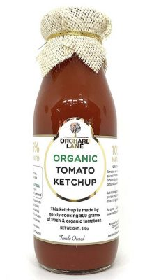 orchard lane organic ketchup