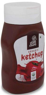 pure & sure organic tomato ketchup