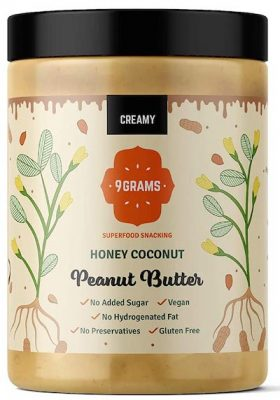 9GRAMS Peanut Butter Honey & Coconut