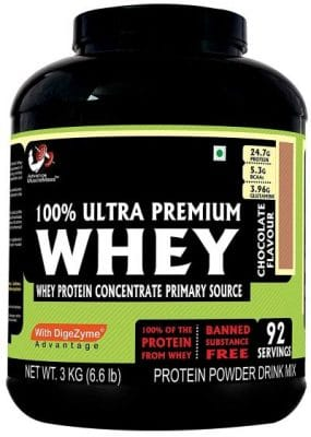 advance muscle mass whey protein