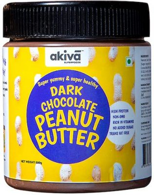 akiva dark chocolate peanut butter