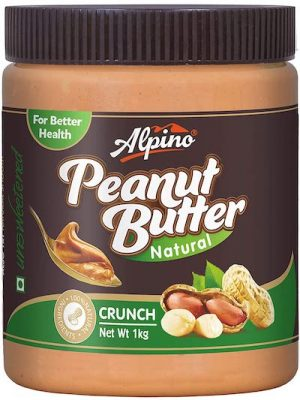 alpino natural peanut butter