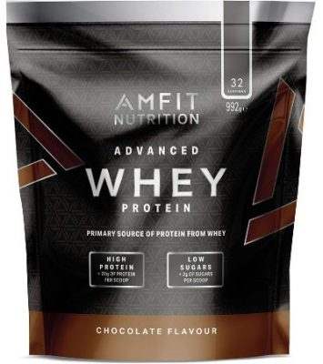 amazon brand amfit nutrition advanced whey protein powder