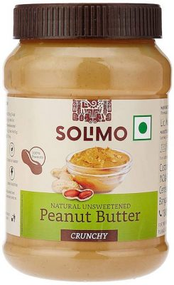 amazon brand solimo natural peanut butter