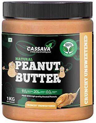 cassava peanut butter crunchy