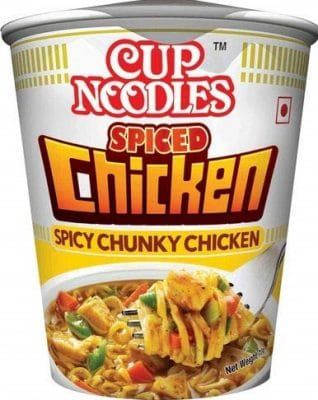 cup noodles spiced chicken