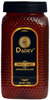 dadev unprocessed raw honey