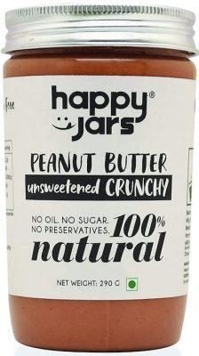 happy jars crunchy peanut butter