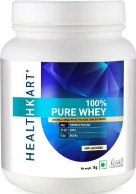 healthkart pure raw whey protein