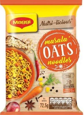 maggi nutrilicious masala oats noodles