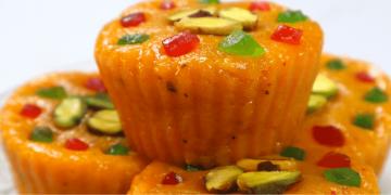 mango cupcakes barfi