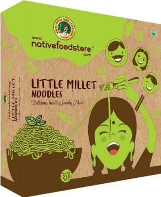 native food store little millet noodles