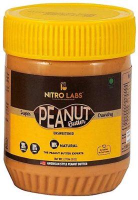 nitro labs gluten free peanut butter