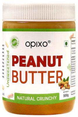 opixo natural crunchy peanut butter
