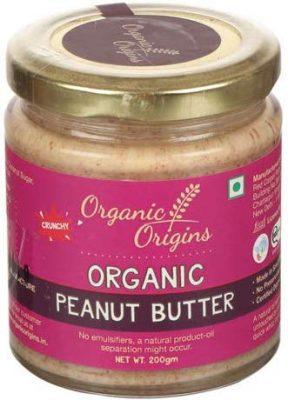 organic origins crunchy peanut butter