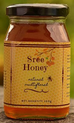 sree pure natural forest bee honey