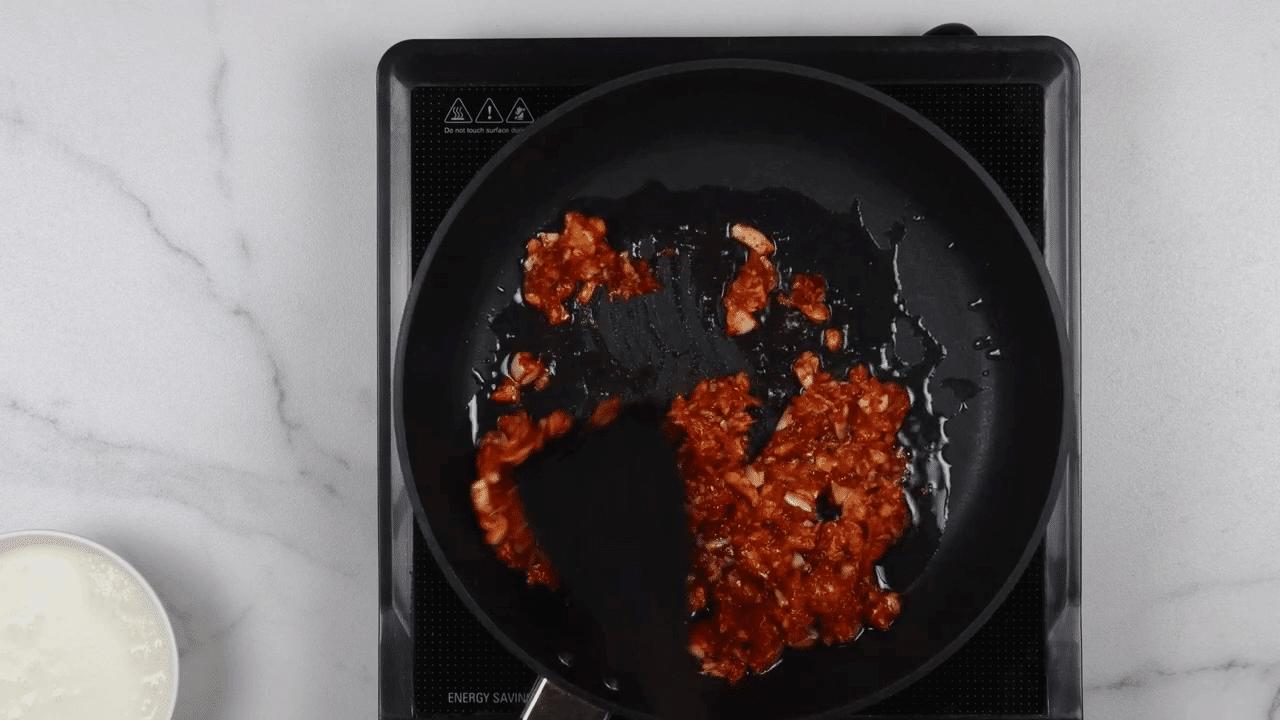 Green Garlic and Coriander Chutney step-2