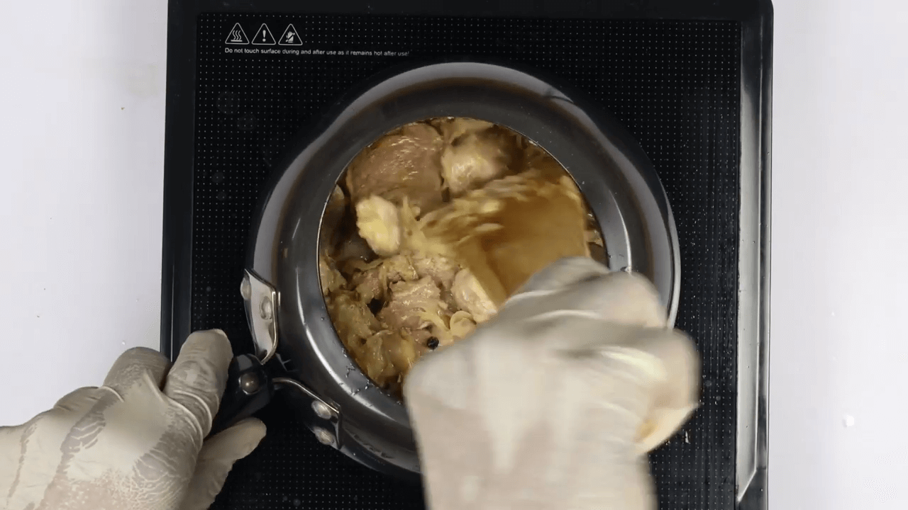 Hyderabadi Mutton Paya step-3