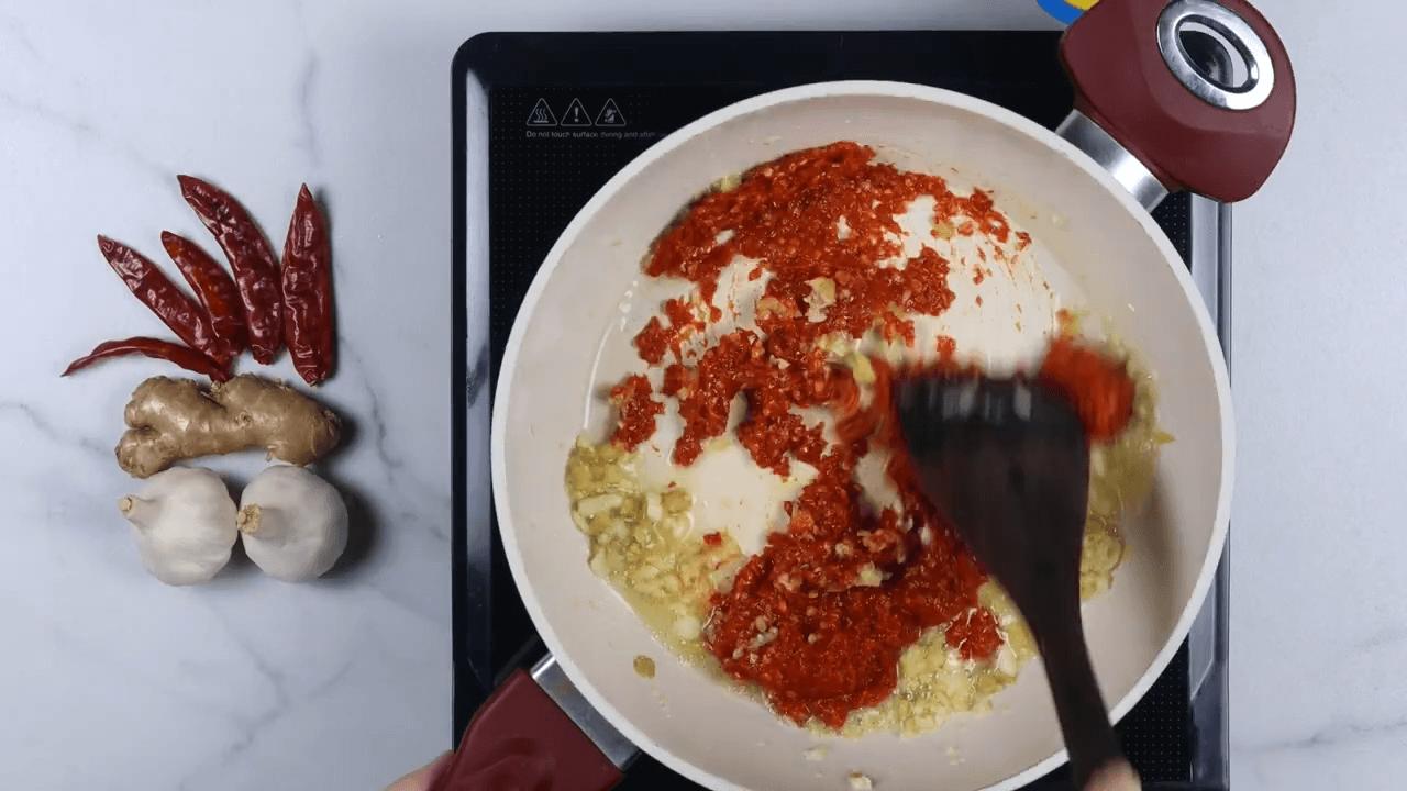 Schezwan Sauce step-4