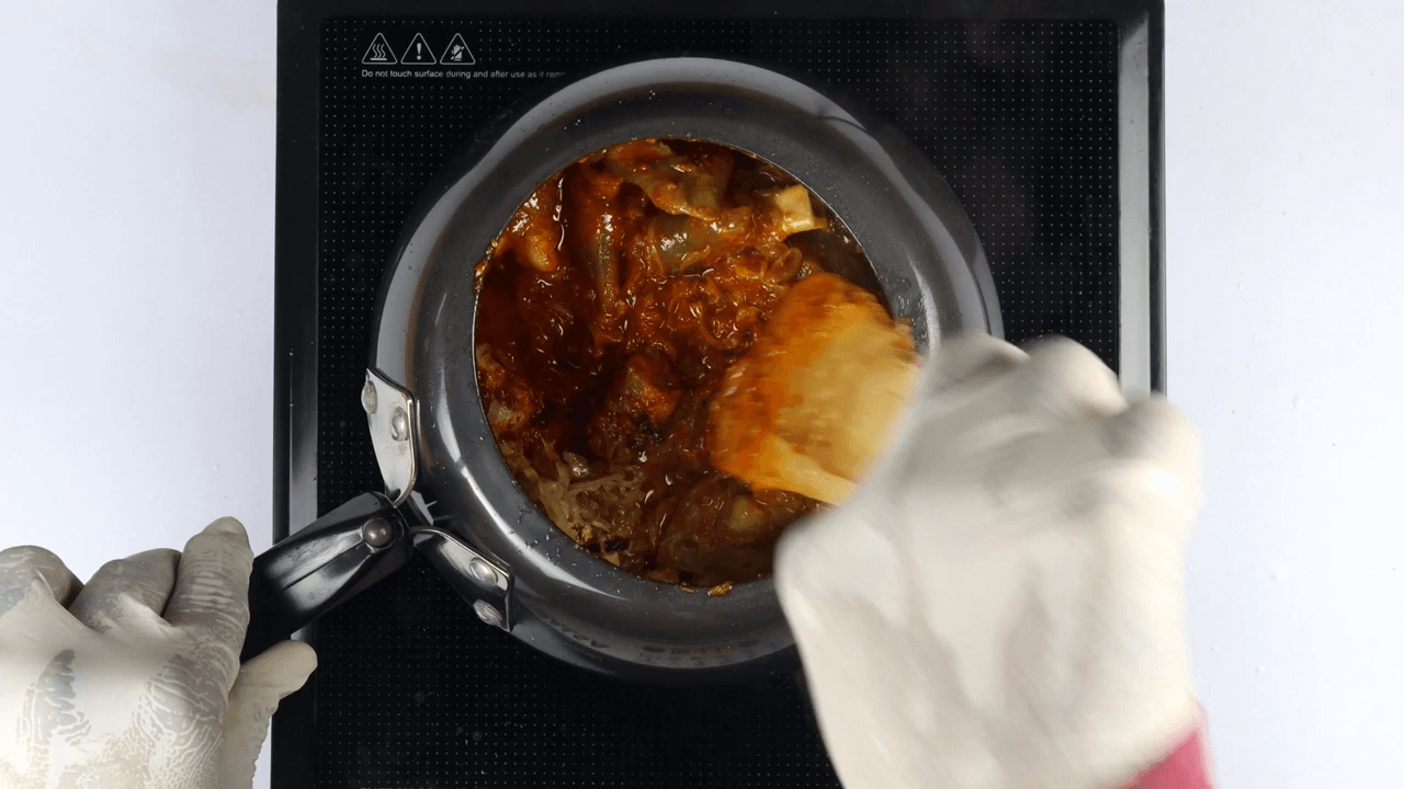 Hyderabadi Mutton Paya step-4