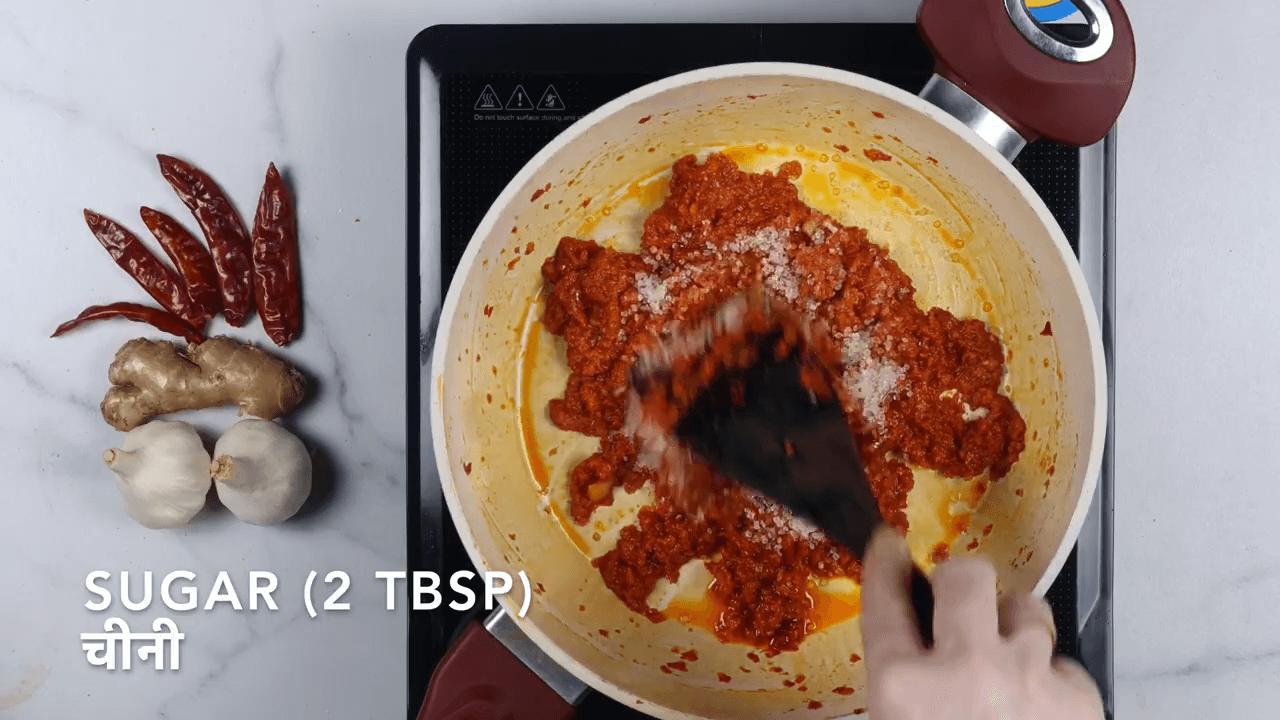 Schezwan Sauce step-5